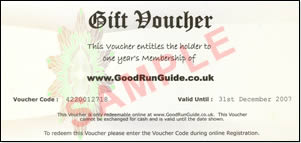 Example of a Gift Voucher